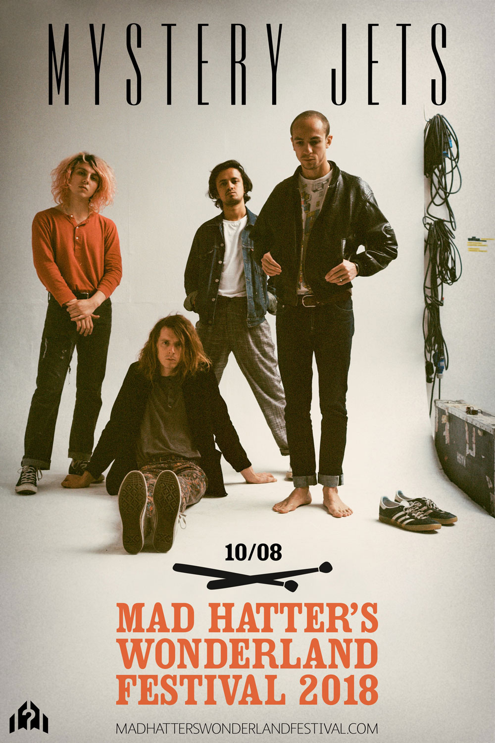 Mystery Jets at Madhatters Music Festival 2018