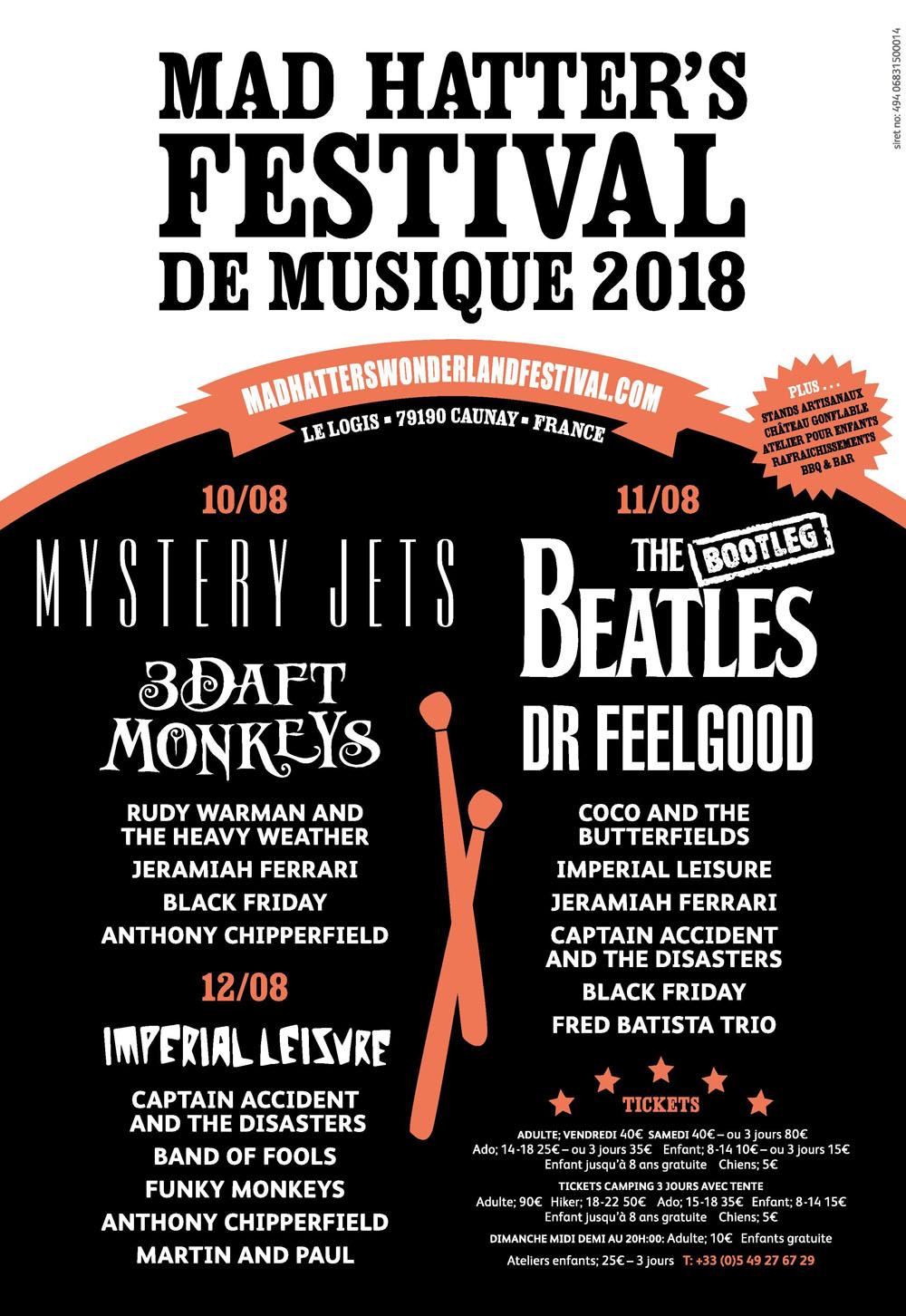 music festival france 2018