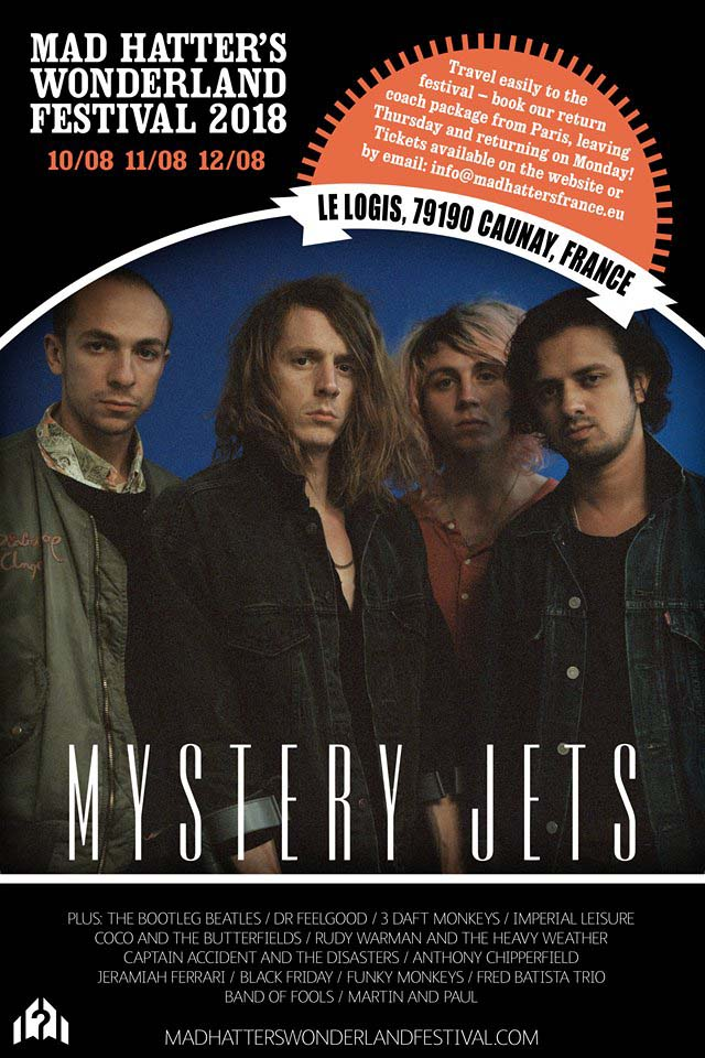 Mystrey Jets at Mad Hatters France